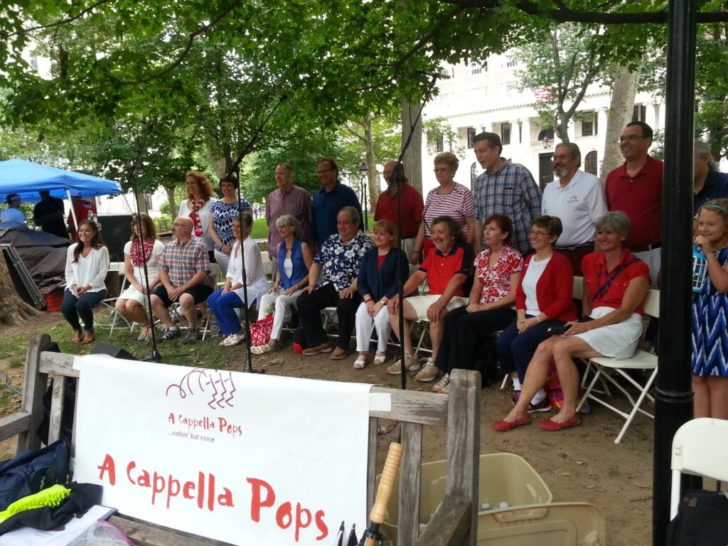 A Cappella Pops Performs at Independence Park