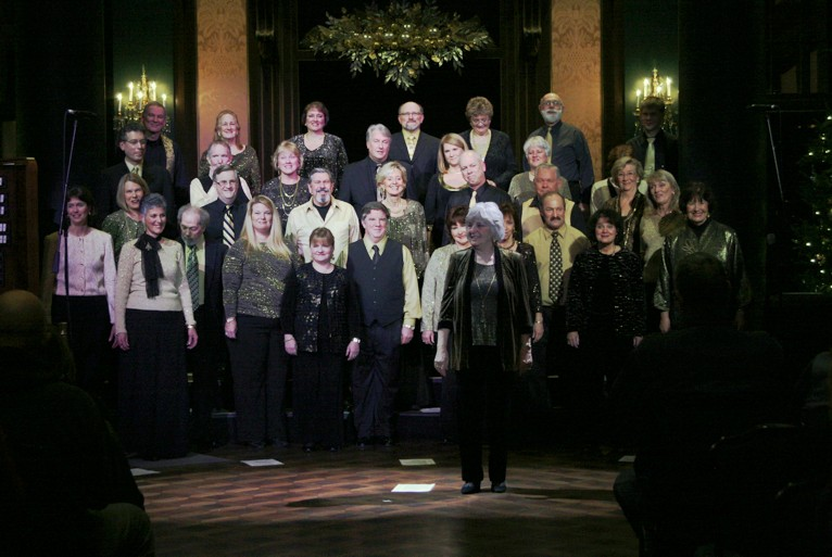 A Cappella Pops Performing at Longwood Gardens